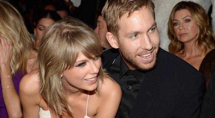 Taylor Swift in Calvin Harris na romantičnih počitnicah