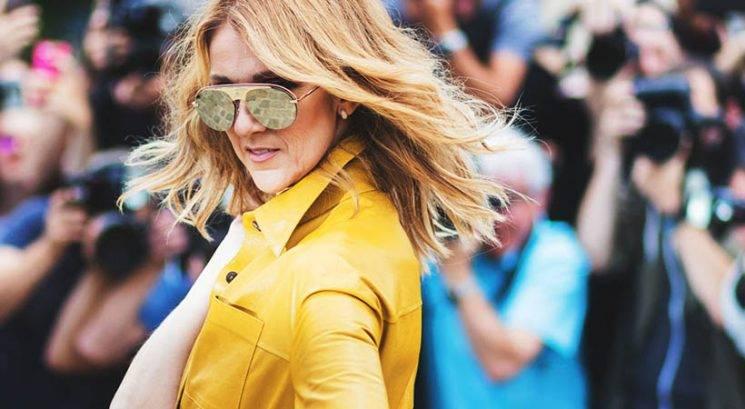 Pevka Celine Dion pozirala gola v Parizu!