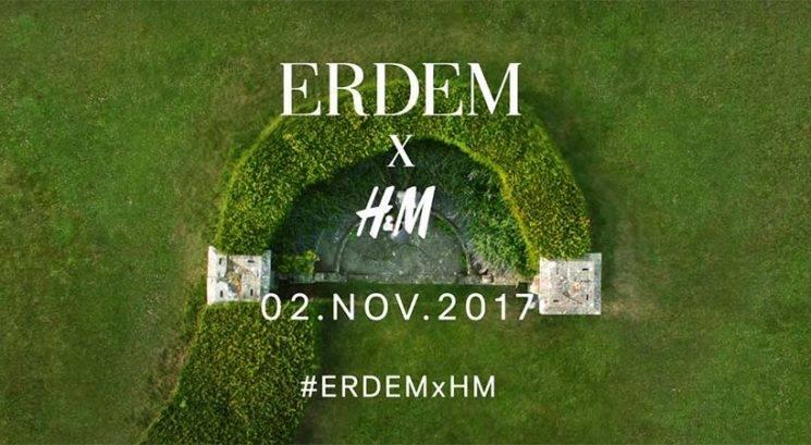 H&M najavil novo sodelovanje: ERDEM x H&M