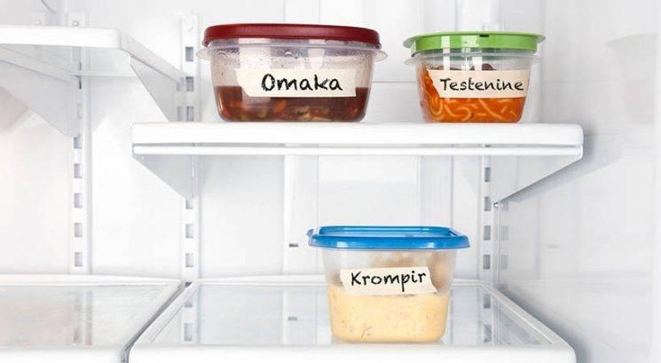 To je edini pravi način shranjevanja ostankov hrane