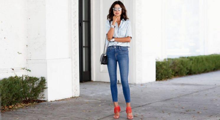 Modna fashionista: Kako izgledati stajliš v kavbojkah z visokim pasom