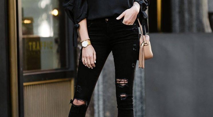 Modni nasvet: Kako stilirati črne kavbojke