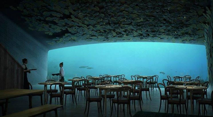 Tako izgleda prva restavracija pod vodo v Evropi