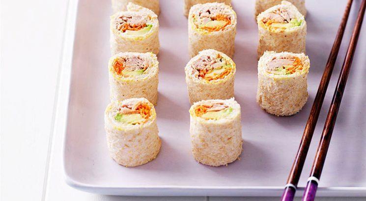 Hitro in enostavno: Sushi sendvič