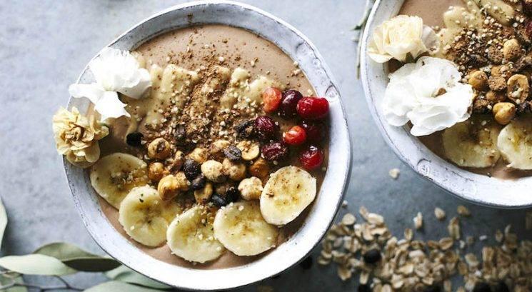 Slastni zajtrk: Kavina smoothie skodelica