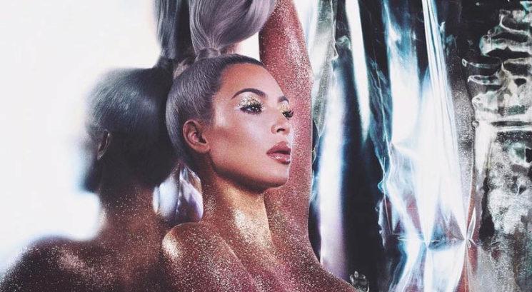 Je Kim Kardashian West ponesreči pokazala malo preveč?