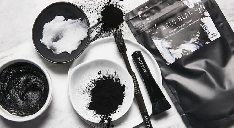Lepotni DIY: Črna ogljena maska za obraz