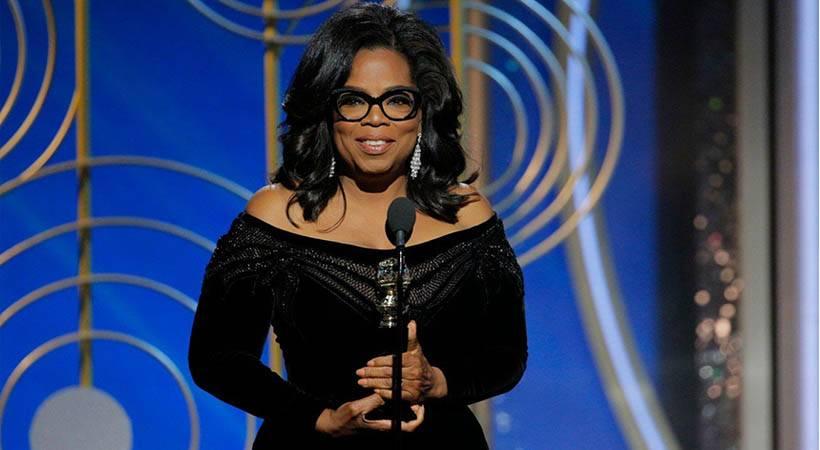 O govoru Oprah Winfrey na nagradah Golden Globes 2018 danes govorijo vsi!