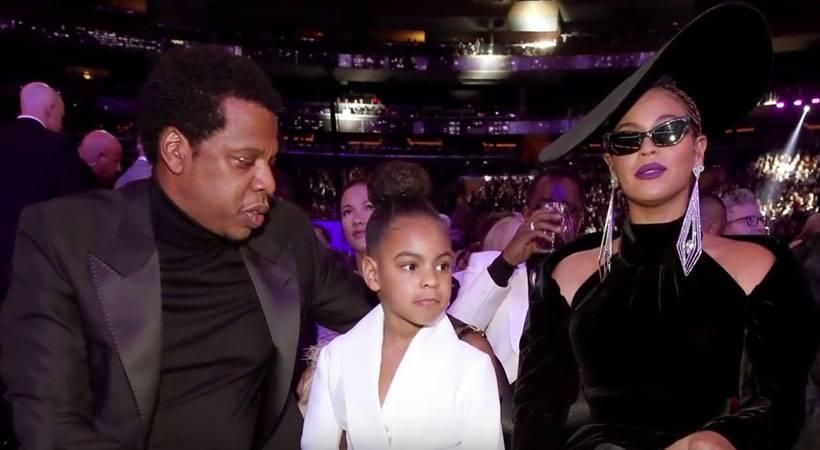 [VIDEO] Je Blue Ivy kar ustavila ploskanje mame Beyoncé?