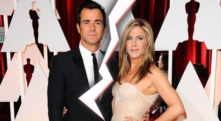 Jennifer Aniston in Justin Theroux se ločujeta!