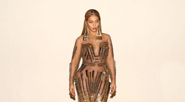 Moraš videti spodnji del obleke, ki jo je nedavno nosila Beyoncé!