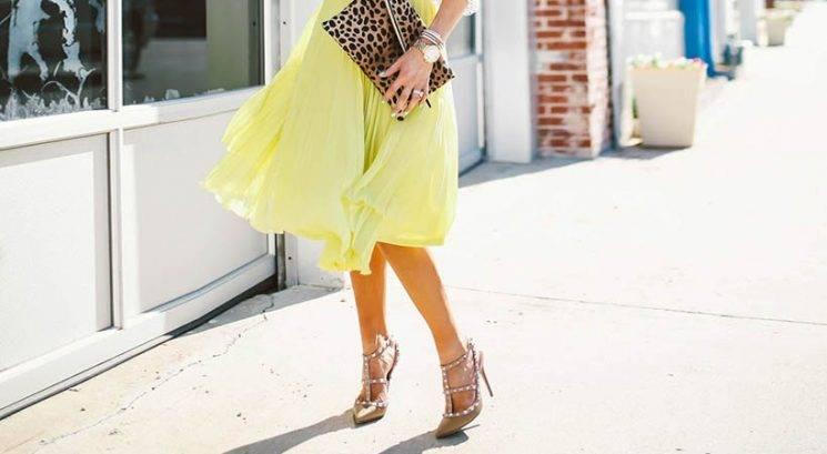 Modni trik: Kako se najlažje odločiš, kakšne čevlje bi obula h krilu ali obleki