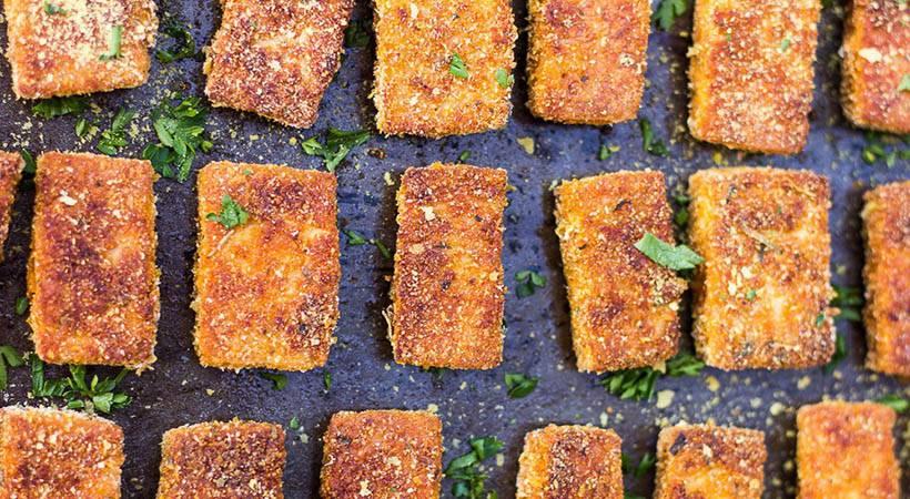 Beljakovinski recept: Enostavni tofujevi medaljoni