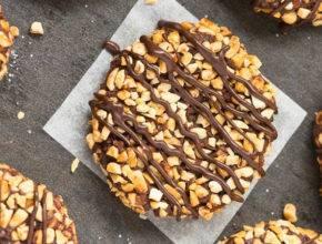 Zdravo sladkanje: Ferrero Rocher piškotki brez sladkorja in peke