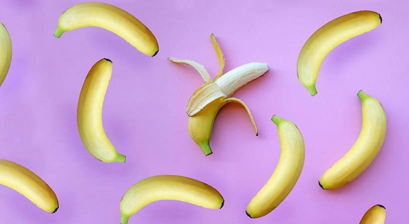 Ali veš, zakaj so banane ukrivljene?