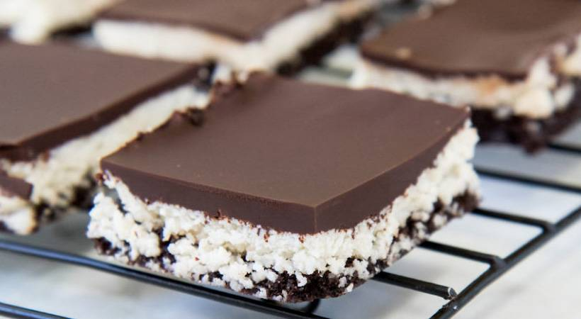 Brez peke: Čokoladno-kokosovi rjavčki