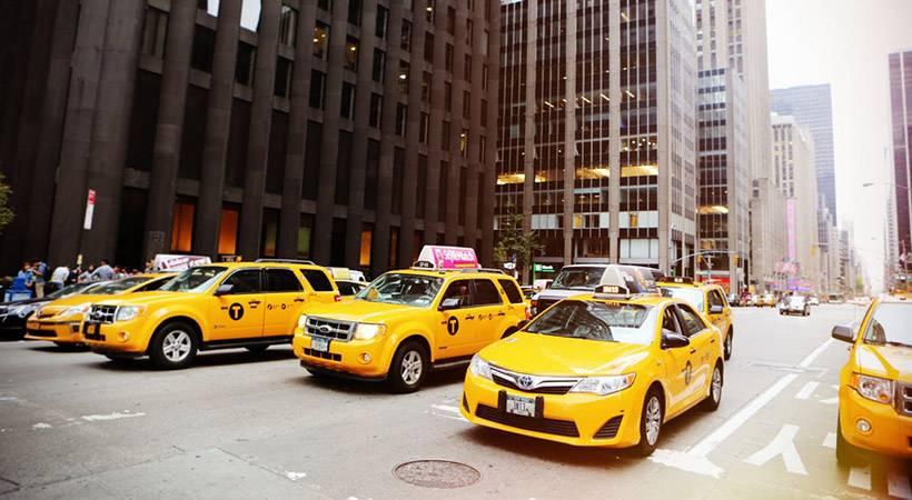 5 zanimivih dejstev o rumenih newyorških taksijih