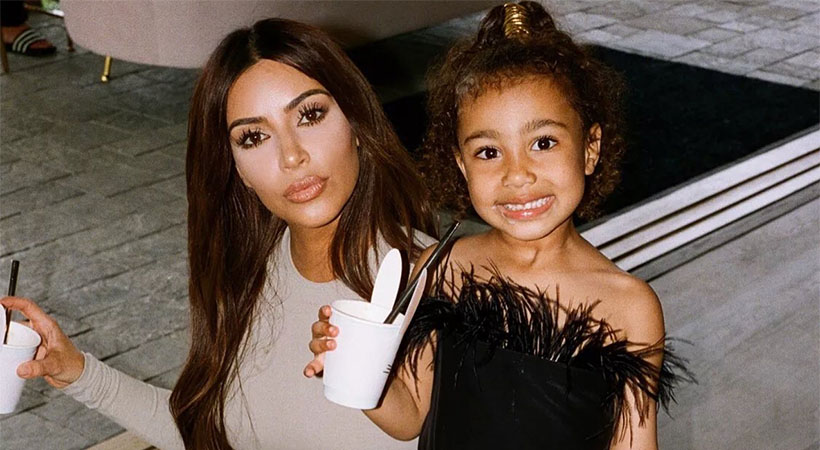 Kim Kardashian spremenila izgled hčere North West in razdvojila internet!