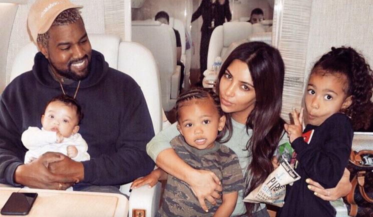 NORO! Toliko na mesec zaslužijo varuške otrok Kanyeja Westa in Kim Kardashian