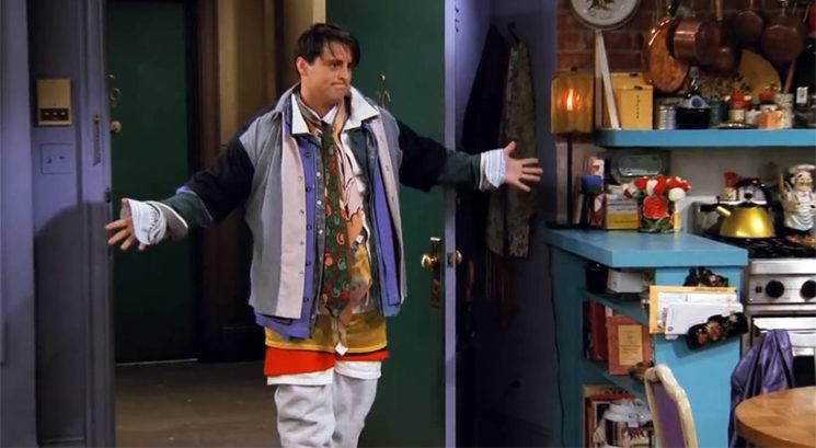 Je znamka Balenciaga kopirala Joeyja iz Prijateljev?