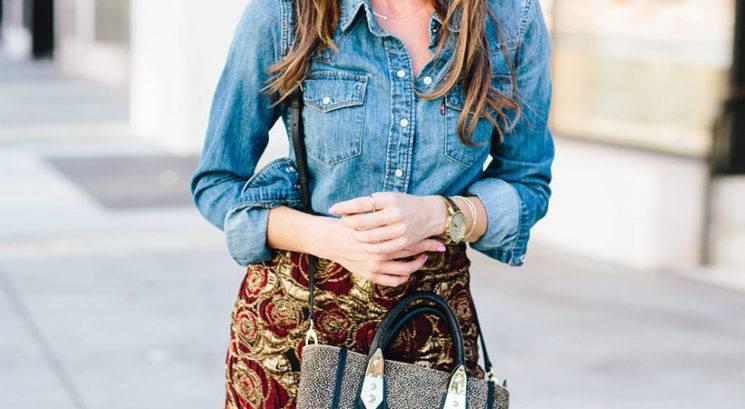 Modni trendi: Brokat je nazaj! Tako ga nosimo letošnjo jesen…
