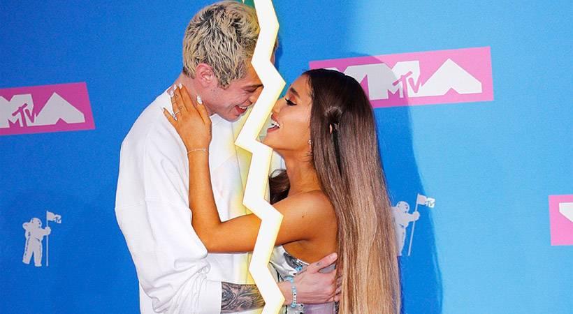 Sta se Ariana Grande & Pete Davidson razšla in preklicala zaroko?