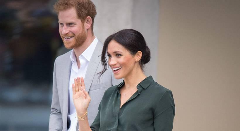 Meghan Markle in princ Harry pričakujeta prvega otroka!