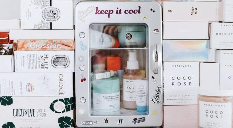 Lepotna dilema: Bi morala negovalno kozmetiko shranjevati v hladilniku?