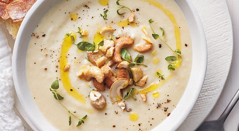 Veganski recept: Kremna cvetačna juha