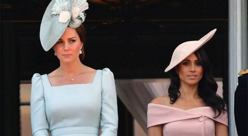 Kate Middleton prvič javno spregovorila o nosečnosti Meghan Markle!