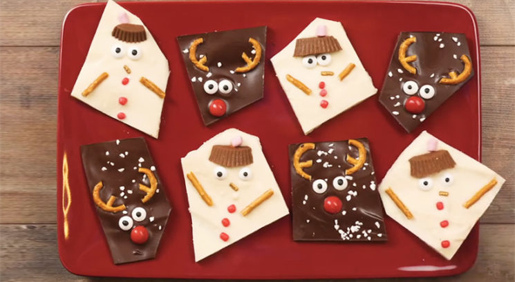 Zimski recept: Čokoladni snežaki in jeleni