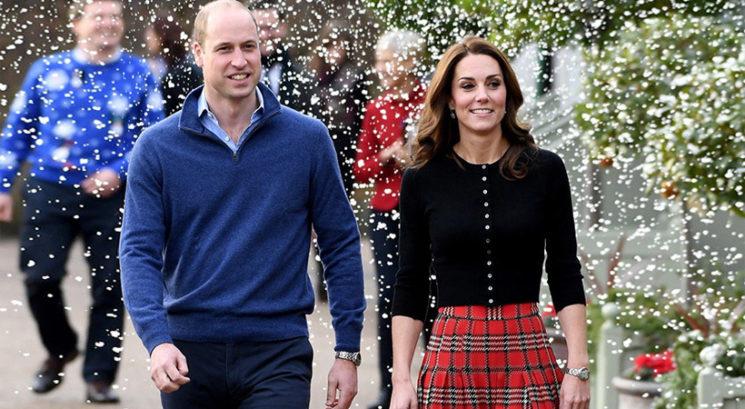 Princ William in Kate Middleton razkrila družinsko božično fotografijo