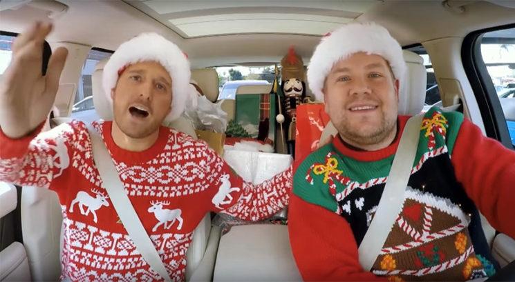 James Corden v božični izdaji 'Carpool Karaoke' gostil Ariano Grande, Cardi B,…