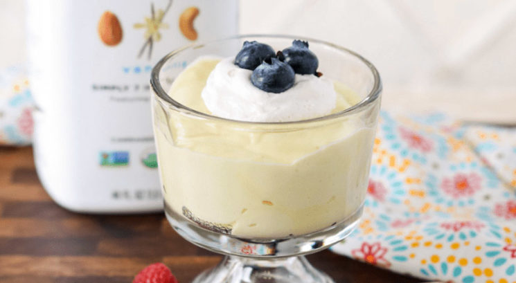 Brezglutenski recept: Veganski vanilijevo-limonin puding