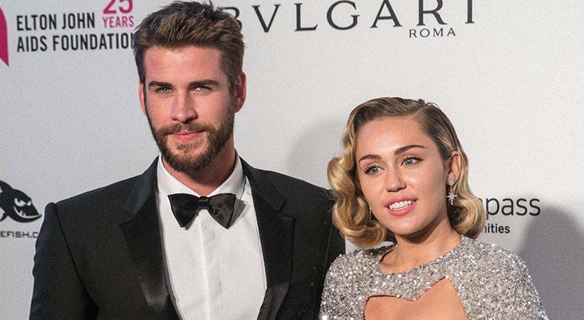 Razkrite štiri fotografije s poroke Miley Cyrus in Liama Hemswortha
