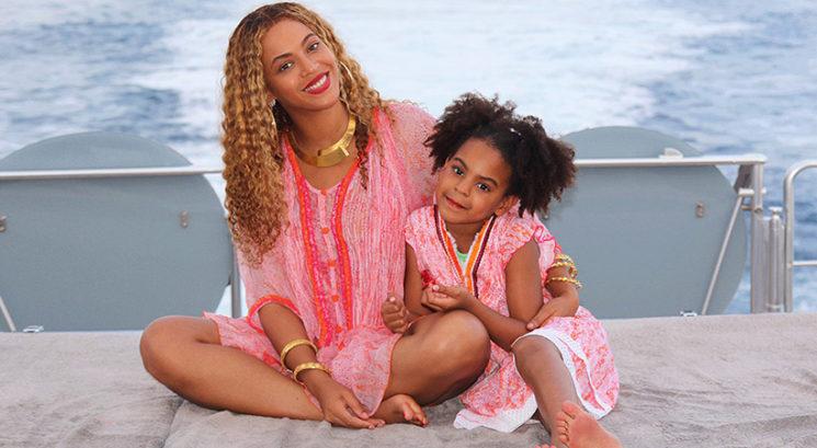Moraš videti! Beyoncé in Blue Ivy izgledata identično
