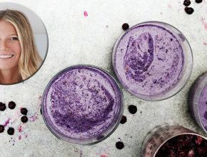 Zvezdniški recept: Borovničev smoothie po receptu Gwyneth Paltrow