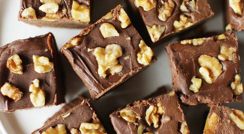 Slastno in zdravo: Veganski čokoladni fudge