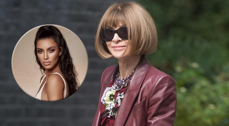 Anna Wintour spregovorila o modnih odločitvah Kim Kardashian