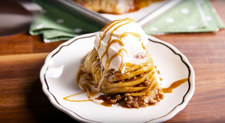 Nizkohidratni recept: Jabolčna pita brez testa
