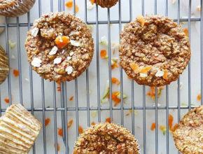 Zdravo sladkanje: Muffini iz ovsenih kosmičev, korenja in bučk