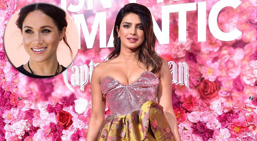 Priyanka Chopra prvič spregovorila o sporu z Meghan Markle
