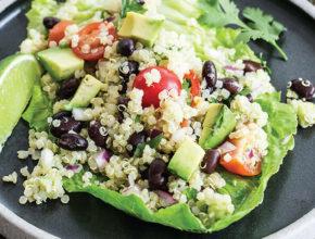 Hitro in zdravo: Guacamole solata s kvinojo