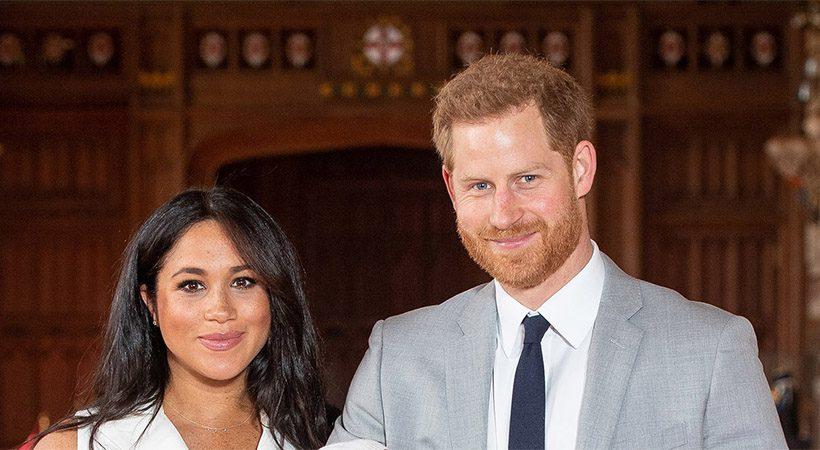 Razkrite prve fotografije novorojenca Meghan Markle in princa Harryja!