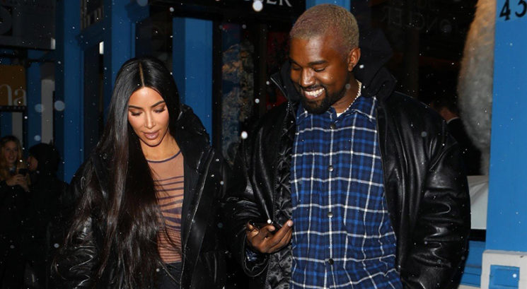 Kim Kardashian in Kanye West četrtič postala starša!