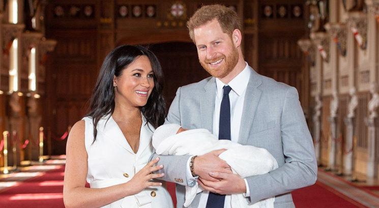 Razkrita NOVA fotografija prvorojenca Meghan Markle in princa Harryja!