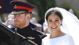 Objavljene še nikoli videne fotografije s poroke Meghan Markle in princa Harryja!