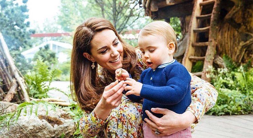 Moraš videti! Nove prisrčne fotografije 1-letnega princa Louisa