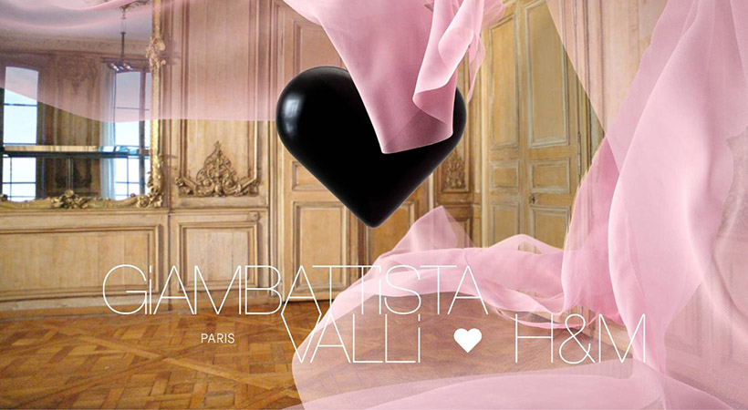 Novo sodelovanje znamke H&M z Giambattisto Vallijem prinaša novosti!
