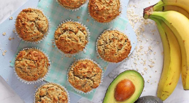Zdrav recept: Avokadovo-bananini muffini
